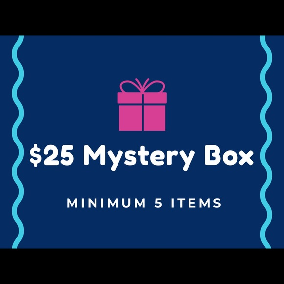 Plus Size Mystery Box Minimum 5 Items